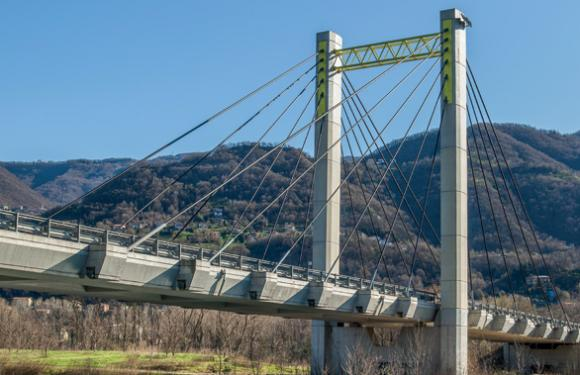06. Cable Stayed bridge over the Adda river, Calolziocorte (Italy)