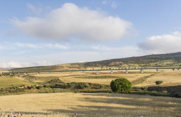 07. Train line viaduct, Qued Tlélat-Tlemecen (Algeria)
