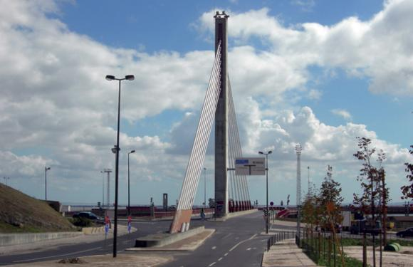 07. Cable Stayed bridge Santa Apolonia, Lisbon (Portugal)