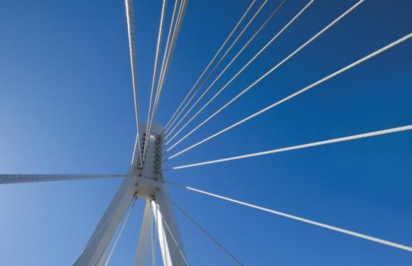 08. Cable Stayed Bridge over the river Belbo, Nizza Monferrato (Italy)